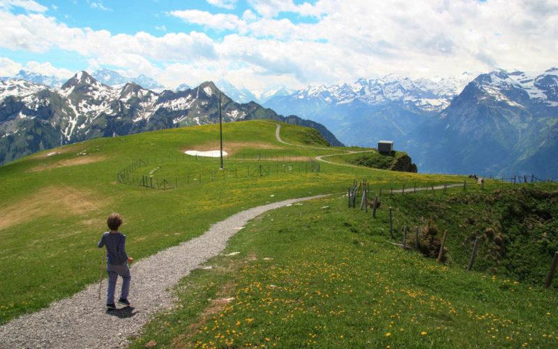 Stoos Easy Panorama Trail Swiss Family Fun