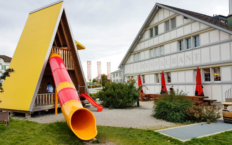 Appenzeller Cheese Factory Swiss Family Fun